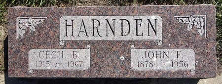 HARNDEN, CECIL - Pennington County, South Dakota | CECIL HARNDEN - South Dakota Gravestone Photos