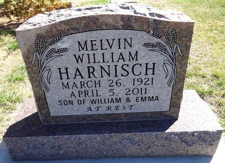 HARNISCH, MELVIN WILLIAM - Pennington County, South Dakota | MELVIN WILLIAM HARNISCH - South Dakota Gravestone Photos
