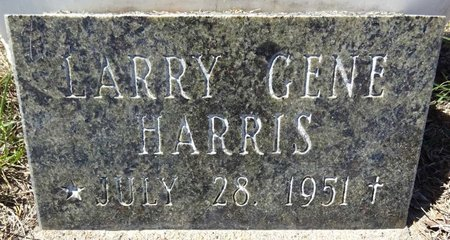 HARRIS, LARRY GENE - Pennington County, South Dakota | LARRY GENE HARRIS - South Dakota Gravestone Photos