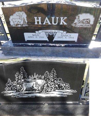 HAUK, NANCY - Pennington County, South Dakota | NANCY HAUK - South Dakota Gravestone Photos