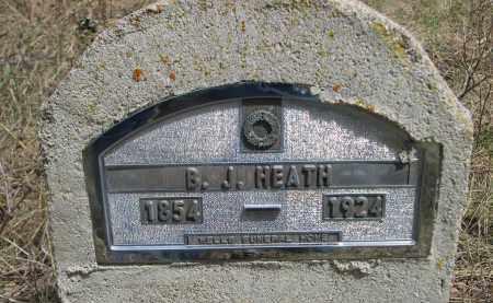HEATH, B.J. - Pennington County, South Dakota   B.J. HEATH - South Dakota Gravestone Photos