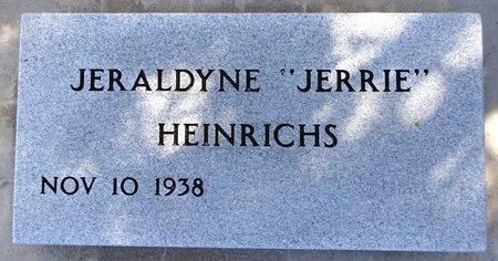 HEINRICHS, JERALDYNE - Pennington County, South Dakota | JERALDYNE HEINRICHS - South Dakota Gravestone Photos