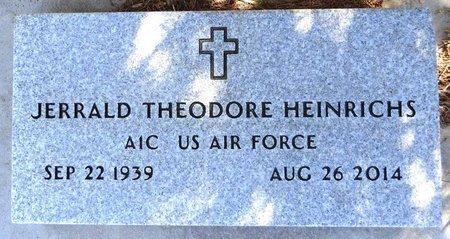 HEINRICHS, JERRALD THEODORE - Pennington County, South Dakota | JERRALD THEODORE HEINRICHS - South Dakota Gravestone Photos