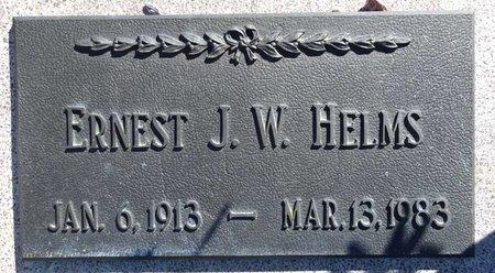HELMS, ERNEST - Pennington County, South Dakota | ERNEST HELMS - South Dakota Gravestone Photos