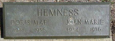HEMNESS, JOAN MARIE - Pennington County, South Dakota | JOAN MARIE HEMNESS - South Dakota Gravestone Photos