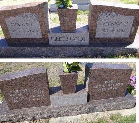 THREADGOLD HILDEBRANDT, VERNICE - Pennington County, South Dakota | VERNICE THREADGOLD HILDEBRANDT - South Dakota Gravestone Photos