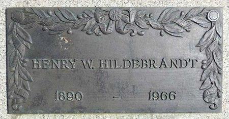 HILDEBRANDT, HENRY - Pennington County, South Dakota   HENRY HILDEBRANDT - South Dakota Gravestone Photos