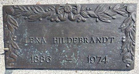 HILDEBRANDT, LENA - Pennington County, South Dakota   LENA HILDEBRANDT - South Dakota Gravestone Photos