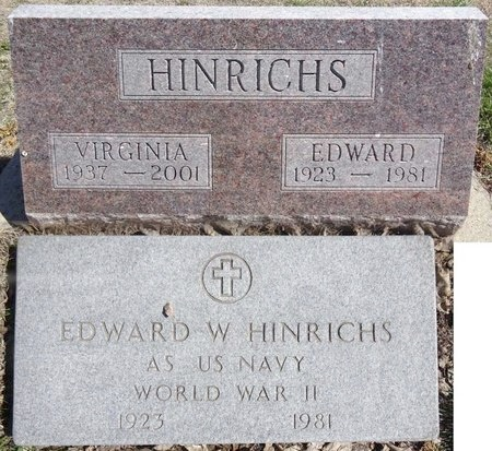 HINRICHS, VIRGINIA - Pennington County, South Dakota | VIRGINIA HINRICHS - South Dakota Gravestone Photos