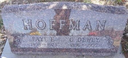 HOFFMAN, G. DEWEY - Pennington County, South Dakota | G. DEWEY HOFFMAN - South Dakota Gravestone Photos