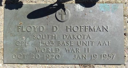 HOFFMAN, FLOYD - Pennington County, South Dakota | FLOYD HOFFMAN - South Dakota Gravestone Photos
