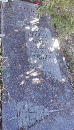 HOFFMAN, GEORGE WAYNE - Pennington County, South Dakota   GEORGE WAYNE HOFFMAN - South Dakota Gravestone Photos