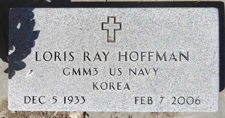 HOFFMAN, LORIS RAY - Pennington County, South Dakota | LORIS RAY HOFFMAN - South Dakota Gravestone Photos