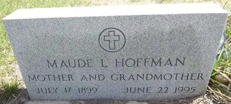 HOFFMAN, MAUDE - Pennington County, South Dakota | MAUDE HOFFMAN - South Dakota Gravestone Photos
