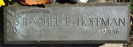 HOFFMAN, RACHEL - Pennington County, South Dakota | RACHEL HOFFMAN - South Dakota Gravestone Photos