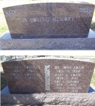 HOFFMAN, WALTER - Pennington County, South Dakota | WALTER HOFFMAN - South Dakota Gravestone Photos