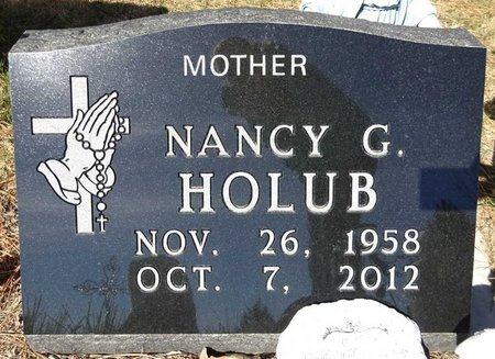 HOLUB, NANCY - Pennington County, South Dakota | NANCY HOLUB - South Dakota Gravestone Photos