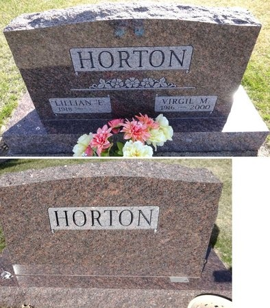 HORTON, VIRGIL - Pennington County, South Dakota | VIRGIL HORTON - South Dakota Gravestone Photos