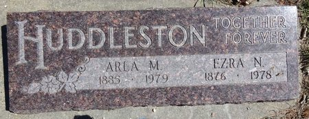HUDDLESTON, EZRA - Pennington County, South Dakota | EZRA HUDDLESTON - South Dakota Gravestone Photos