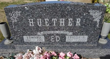 HUETHER, EDWARD - Pennington County, South Dakota   EDWARD HUETHER - South Dakota Gravestone Photos