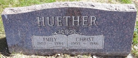 HUETHER, CHRIST - Pennington County, South Dakota   CHRIST HUETHER - South Dakota Gravestone Photos