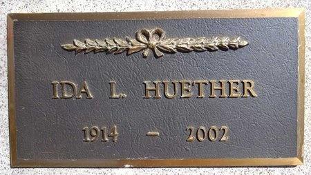 SCHULER HUETHER, IDA - Pennington County, South Dakota | IDA SCHULER HUETHER - South Dakota Gravestone Photos