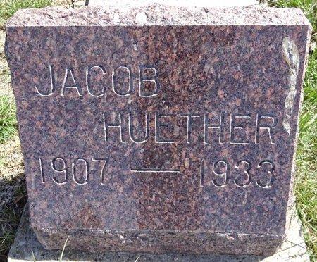 HUETHER, JACOB - Pennington County, South Dakota | JACOB HUETHER - South Dakota Gravestone Photos