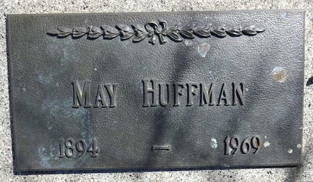 HUFFMAN, MAY - Pennington County, South Dakota | MAY HUFFMAN - South Dakota Gravestone Photos