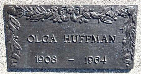 HUFFMAN, OLGA - Pennington County, South Dakota | OLGA HUFFMAN - South Dakota Gravestone Photos