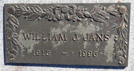 JANS, WILLIAM - Pennington County, South Dakota | WILLIAM JANS - South Dakota Gravestone Photos