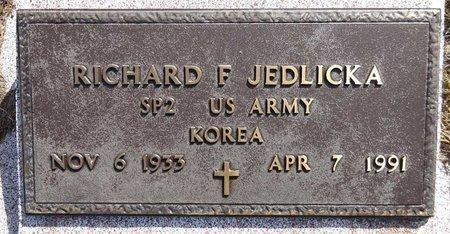 JEDLICKA, RICHARD - Pennington County, South Dakota | RICHARD JEDLICKA - South Dakota Gravestone Photos