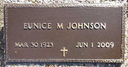 JOHNSON, EUNICE - Pennington County, South Dakota | EUNICE JOHNSON - South Dakota Gravestone Photos