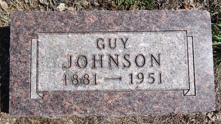 JOHNSON, GUY - Pennington County, South Dakota   GUY JOHNSON - South Dakota Gravestone Photos