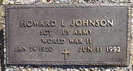 JOHNSON, HOWARD - Pennington County, South Dakota | HOWARD JOHNSON - South Dakota Gravestone Photos
