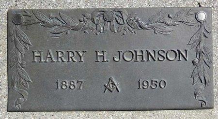 JOHNSON, HARRY - Pennington County, South Dakota   HARRY JOHNSON - South Dakota Gravestone Photos