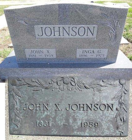 JOHNSON, INGA - Pennington County, South Dakota   INGA JOHNSON - South Dakota Gravestone Photos
