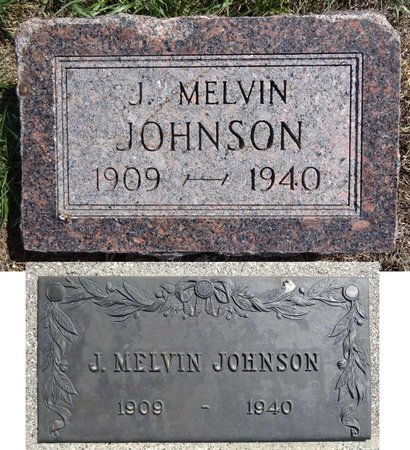 JOHNSON, J. MELVIN - Pennington County, South Dakota | J. MELVIN JOHNSON - South Dakota Gravestone Photos