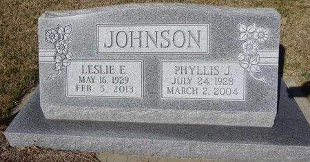 JOHNSON, LESLIE - Pennington County, South Dakota   LESLIE JOHNSON - South Dakota Gravestone Photos