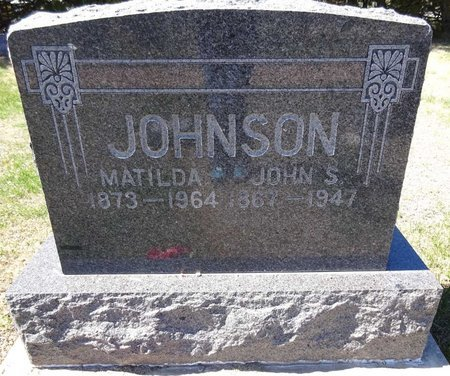 JOHNSON, MATILDA - Pennington County, South Dakota | MATILDA JOHNSON - South Dakota Gravestone Photos
