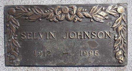 JOHNSON, SELVIN - Pennington County, South Dakota   SELVIN JOHNSON - South Dakota Gravestone Photos