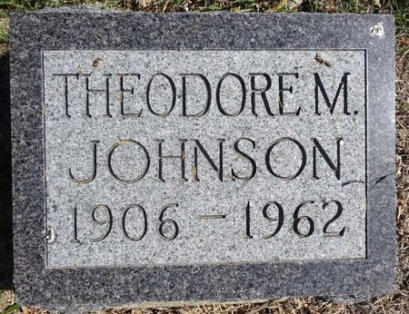 JOHNSON, THEODORE - Pennington County, South Dakota | THEODORE JOHNSON - South Dakota Gravestone Photos