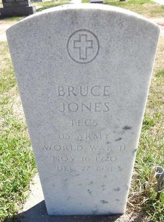 JONES, BRUCE - Pennington County, South Dakota | BRUCE JONES - South Dakota Gravestone Photos