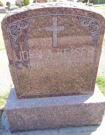 KEISER, JOHN - Pennington County, South Dakota   JOHN KEISER - South Dakota Gravestone Photos