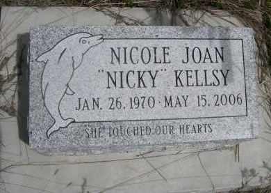 "KELLSY, NOCOLE JOAN ""NICKY"" - Pennington County, South Dakota | NOCOLE JOAN ""NICKY"" KELLSY - South Dakota Gravestone Photos"