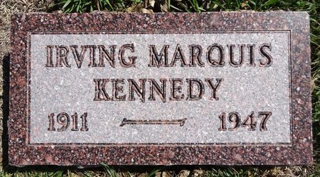 KENNEDY, IRVING MARQUIS - Pennington County, South Dakota | IRVING MARQUIS KENNEDY - South Dakota Gravestone Photos