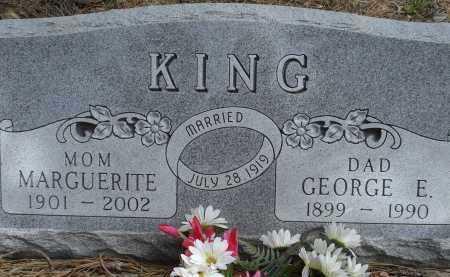 KING, GEORGE E. - Pennington County, South Dakota | GEORGE E. KING - South Dakota Gravestone Photos