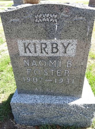 KIRBY, NAOMI - Pennington County, South Dakota | NAOMI KIRBY - South Dakota Gravestone Photos