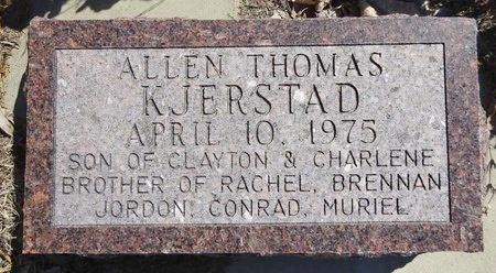KJERSTAD, ALLEN THOMAS - Pennington County, South Dakota | ALLEN THOMAS KJERSTAD - South Dakota Gravestone Photos