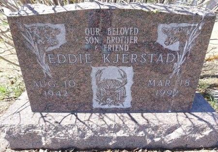 KJERSTAD, EDDIE - Pennington County, South Dakota   EDDIE KJERSTAD - South Dakota Gravestone Photos