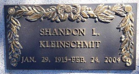 WOOD KLEINSCHMIT, SHANDON - Pennington County, South Dakota   SHANDON WOOD KLEINSCHMIT - South Dakota Gravestone Photos